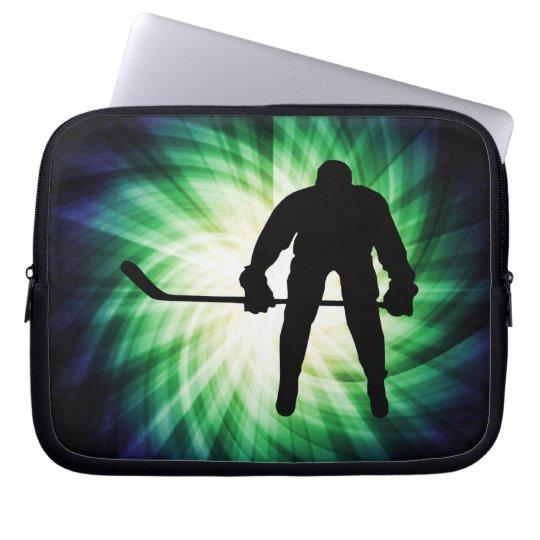 Cool Hockey Player Computer Sleeve