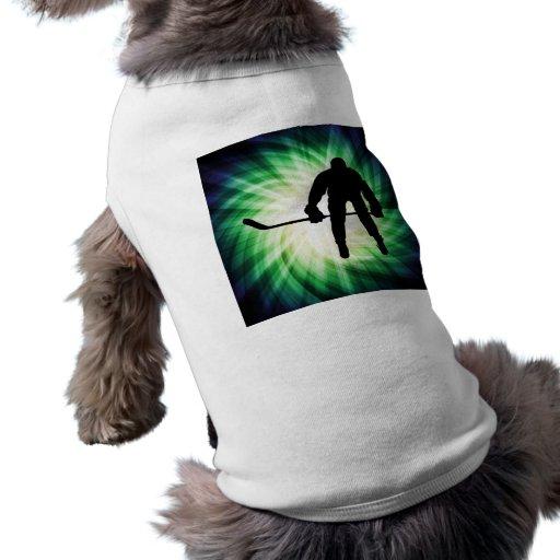 Cool Hockey Player Doggie T-shirt
