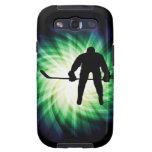 Cool Hockey Player Galaxy SIII Case