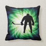 Cool Hockey Player Pillow
