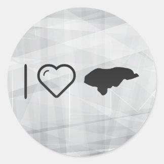 Cool Honduras Classic Round Sticker