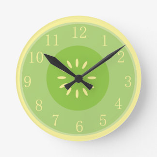 Cool Honeydew Melon Kitchen Clock