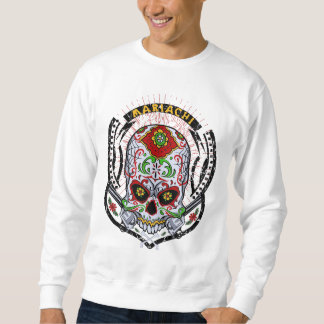Cool hoodie skull and bones mariachi sudadera