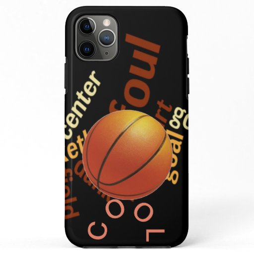 Cool Hoops Basketball Sport Fanatics iPhone 11 Pro Max Case