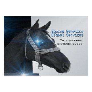 """Cool Horse Professional  3.5"""" x 2.5"""" Business Card Template"""