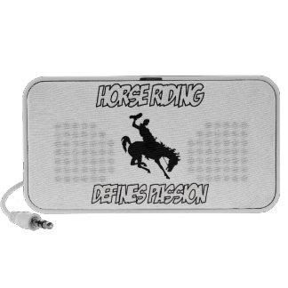 Cool horse riding designs mini speakers