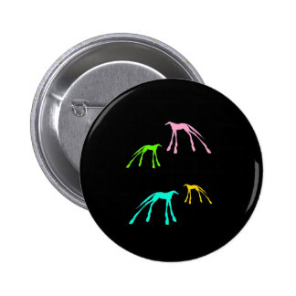 Cool Horses 2 Inch Round Button