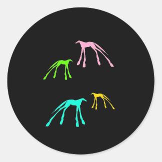 Cool Horses Sticker
