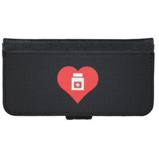 Cool Hospitals Pictograph iPhone 6 Wallet Case