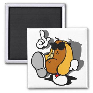 Cool Hot Dog Dancer Magnet