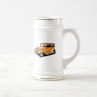 Cool Hot Rod Coupe Beer Stein