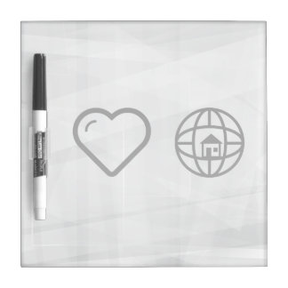 Cool House Dry Erase Board