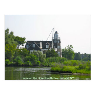 Cool House on the Great South Bay Postcard