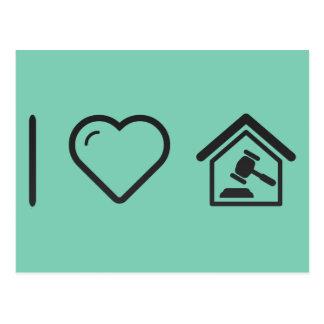 Cool House Sale Postcard