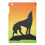 Cool Howling Wolf ipad case