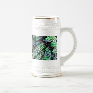 Cool Hued Burro's Tails in the Hot Desert 18 Oz Beer Stein
