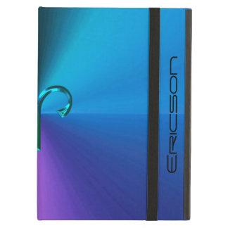 Cool Hued Metallic Zodiac Sign Aries iPad Air Cases