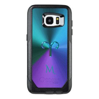 Cool Hued Metallic Zodiac Sign Aries OtterBox Samsung Galaxy S7 Edge Case