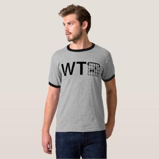 Cool Humor WTF Guitar F Major Chord T-Shirt