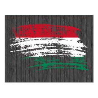 Cool Hungarian flag design Postcard
