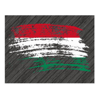 Cool Hungarian flag design Postcard