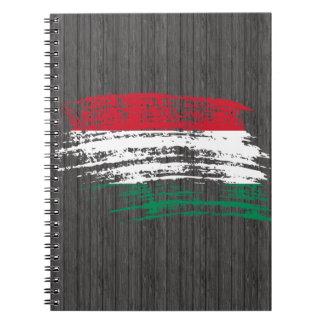 Cool Hungarian flag design Spiral Notebook