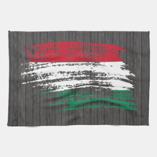 Cool Hungarian flag design Towels