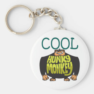 Cool Hunky Monkey Keychain