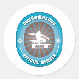Cool Hurdlers Club Stickers