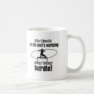 Cool Hurdling designs Coffee Mug