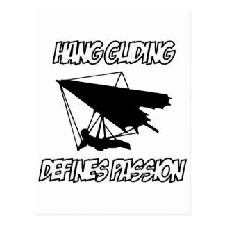 Cool hurdling designs postcard