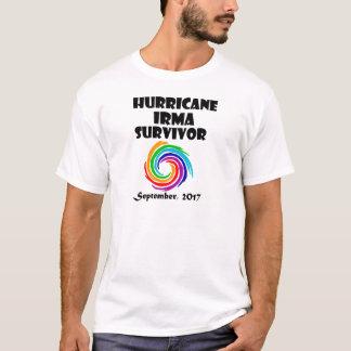 Cool Hurricane Irma Survivor Art T-Shirt