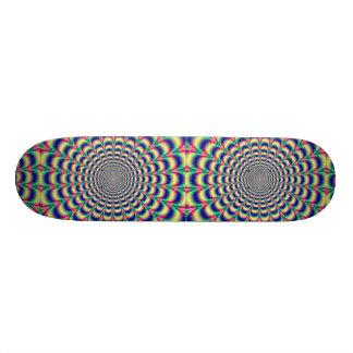 Cool Hypnotic Skateboard