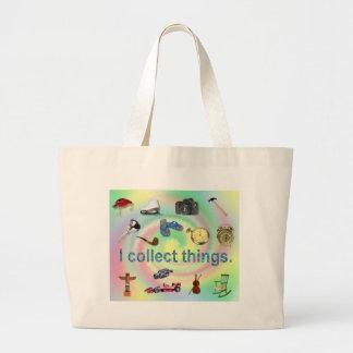 Cool I Collect Things Jumbo Tote Bag