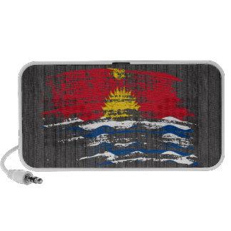 Cool I-Kiribati flag design Mini Speaker
