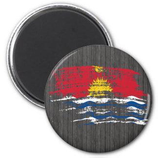 Cool I-Kiribati flag design Refrigerator Magnets