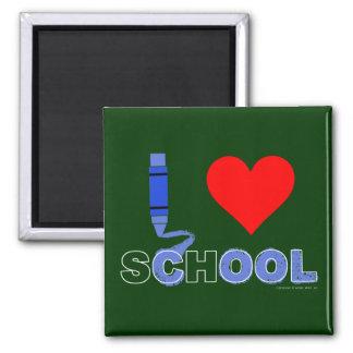 Cool ! I love school (B) Magnet