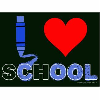 Cool ! I love school Cutout