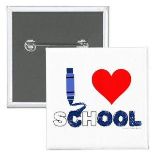 Cool ! I love school Pinback Button