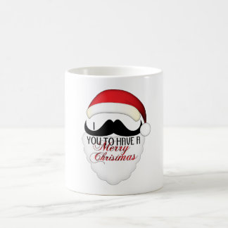 Cool I mustache you to have a Merry Christmas Coffee Mug