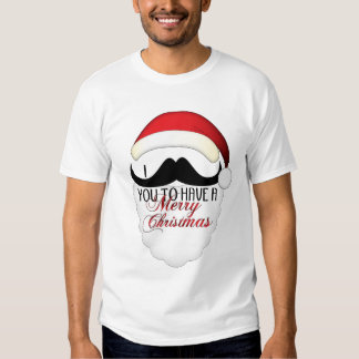 Cool I mustache you to have a Merry Christmas T-shirt