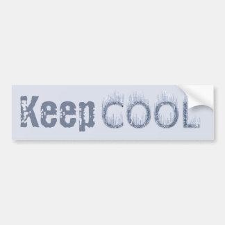 Cool - Ice Cold Design Bumper Stickers