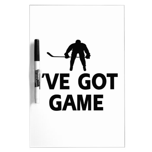 cool icehockey designs Dry-Erase boards
