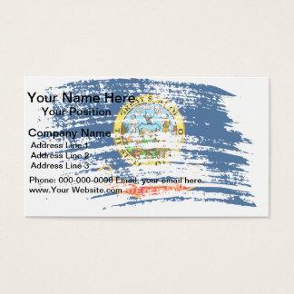Cool Idahoan flag design Business Card