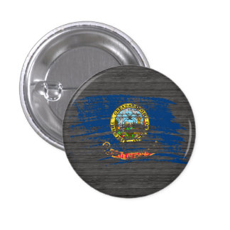Cool Idahoan flag design Button