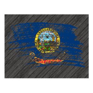 Cool Idahoan flag design Postcard