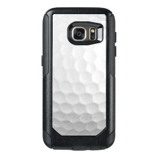 Cool Image Of White Golf Ball Dimples Pattern OtterBox Samsung Galaxy S7 Case