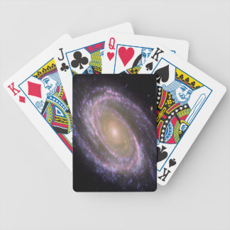 cool image with galaxi and stars bicycle playing cards
