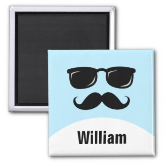 Cool incognito agent personalized name magnet