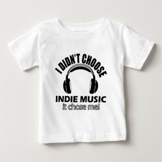 Cool indie music designs baby T-Shirt